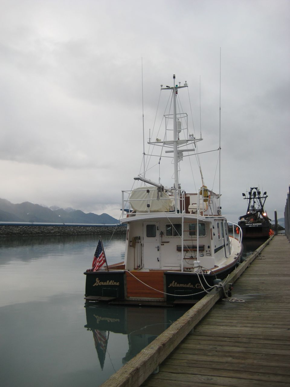 docked at Seward