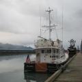 docked at Seward