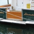 The name is looking good on the transom!