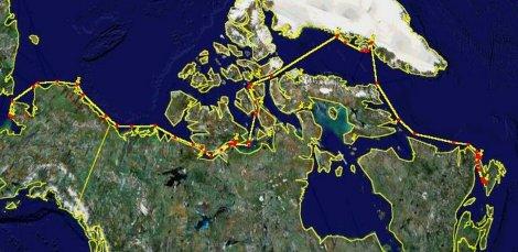Alternative Route #2 (5411 miles)