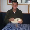 crab pot float autographing!